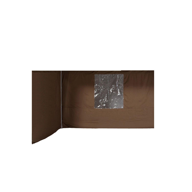 Garden Impressions Pavillon Esprit Set, 2 Seitenwände, Dunkel Beige, 3x3m günstig