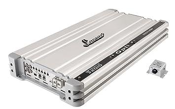 Lanzar Optidrive OPTI3201D Amplificateur Numérique et 3200 W 0,5 Ohms Stable Argent