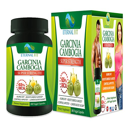 Weight Loss Pills Garcinia Cambogia Extract 65% HCA 90 Day Supply ...