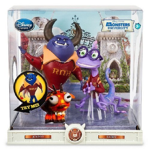 Monsters University Action Figure Set- Johnny & Randy- Disney/PIXAR - 1