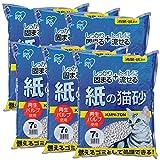 アイリスオーヤマ 紙の猫砂 7L×6袋入  KMN-70N