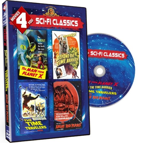 618LHAM VrL Movies 4 You   Sci Fi Classics (The Man from Planet X / Beyond the Time Barrier / The Time Travelers / The Angry Red Planet)