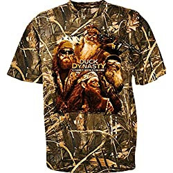 Duck Dynasty Family With A Calling Ccamouflage Youth T-Shirt