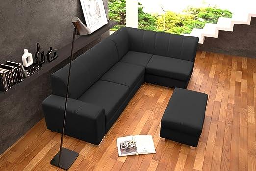 MINISTER Corner Sofa Bed * Brand New * Modern Design * DARK GREY