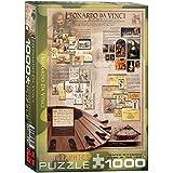Eurographics Genius of Leonardo Da Vinci 1000-Piece Puzzle