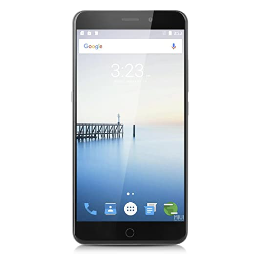 UMI Super 4G Android 6.0 Smartphone avec Fonciton Cradle Magnétique Fingerprint Scanner HIFI Type-C WIFI Support Dual SIM Double Veille 4GB RAM + 32GB ROM 5.5'' Inch Écran 2.5D LTPS FHD 64 - bit MT6755 Octa Core 2.0GHz 4000 mAh Batterie Mobi