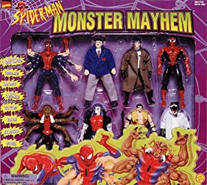 "Spider-Man Monster Mayhem Exclusive 8 pack of 6"" figures"