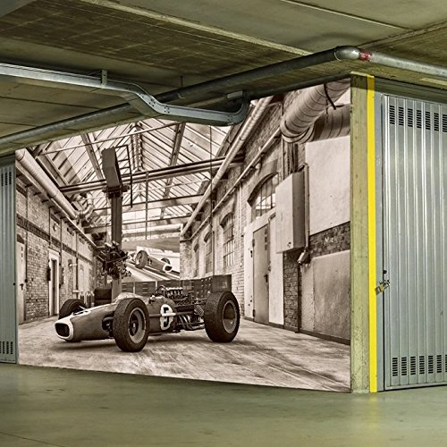 Classic Formula 1 Race Car Vintage Sports Wall Mural Transport Photo Wallpaper available in 8 Sizes X-Small Digital (Classic Car Wallpaper Border compare prices)