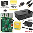 CanaKit Raspberry Pi 2 Complete Starter Kit (8GB SD Card + Case + Power Supply + HDMI)