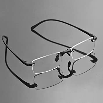 Rimless Fashion Glasses Clear Glasses Clear Eye Glasses