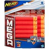 Nerf - N-Strike Mega - Set de 10 Dardos (Hasbro A4368)