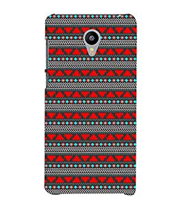 EPICCASE ethnic design Mobile Back Case Cover For Meizu m2 Note (Designer Case)