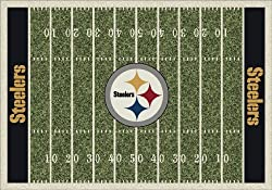 "Pittsburgh Steelers 3' 10"" x 5' 4"" NFL Home Field Area Rug"