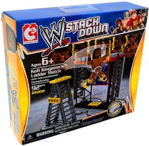 WWE STACK DOWN UNIVERSE KOFI KINGSTON'S LADDER MATCH W/ INTERCONTINENTAL CHAMPIONSHIP
