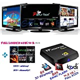 PigflyTech� 2016 Latest Ti4 Andriod TV BOX and Game Player!!! [S812/Quad Core/2G/8G/4K, Bluetooth], Fully-LOADED Kodi 15.2 tons of addons and several Games were preistalled, Streaming Media Player