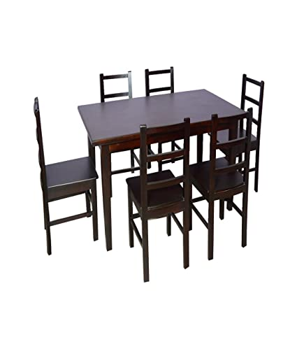 Starter Dining 4 Seater Wooden Dining Available At Amazon For