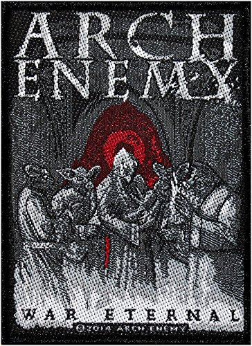 Arch Enemy Logo era Eternal Patch Tessuto 7,5 x 10 cm