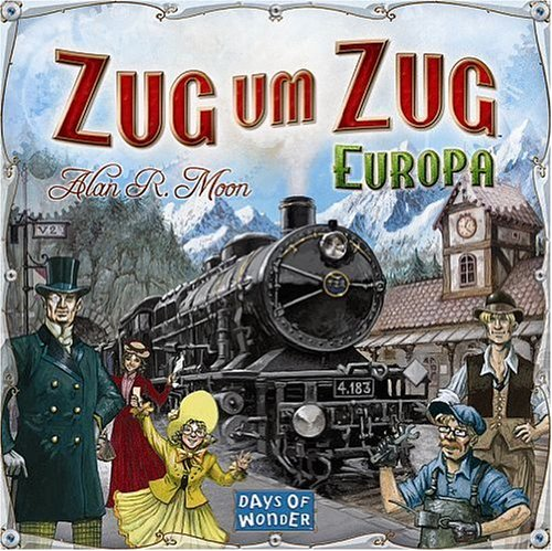 Asmodee - Days of Wonder 200098 - Zug um Zug Europa