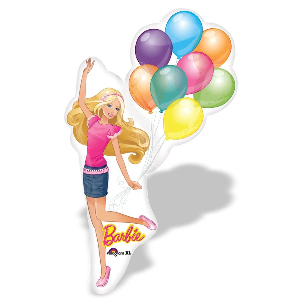 8 x Riesiger Folienballon Luftballon Heliumballon Barbie Balloon – 64 x 117 cm günstig als Geschenk kaufen