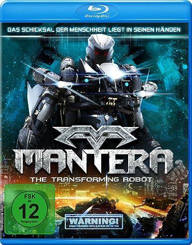 Mantera - The Transforming Robot, Blu-ray