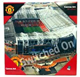 Manchester United FC Old Trafford Canvas Art Print