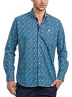 JACK WILLIAMS Camisa Hombre (Azul Oscuro)
