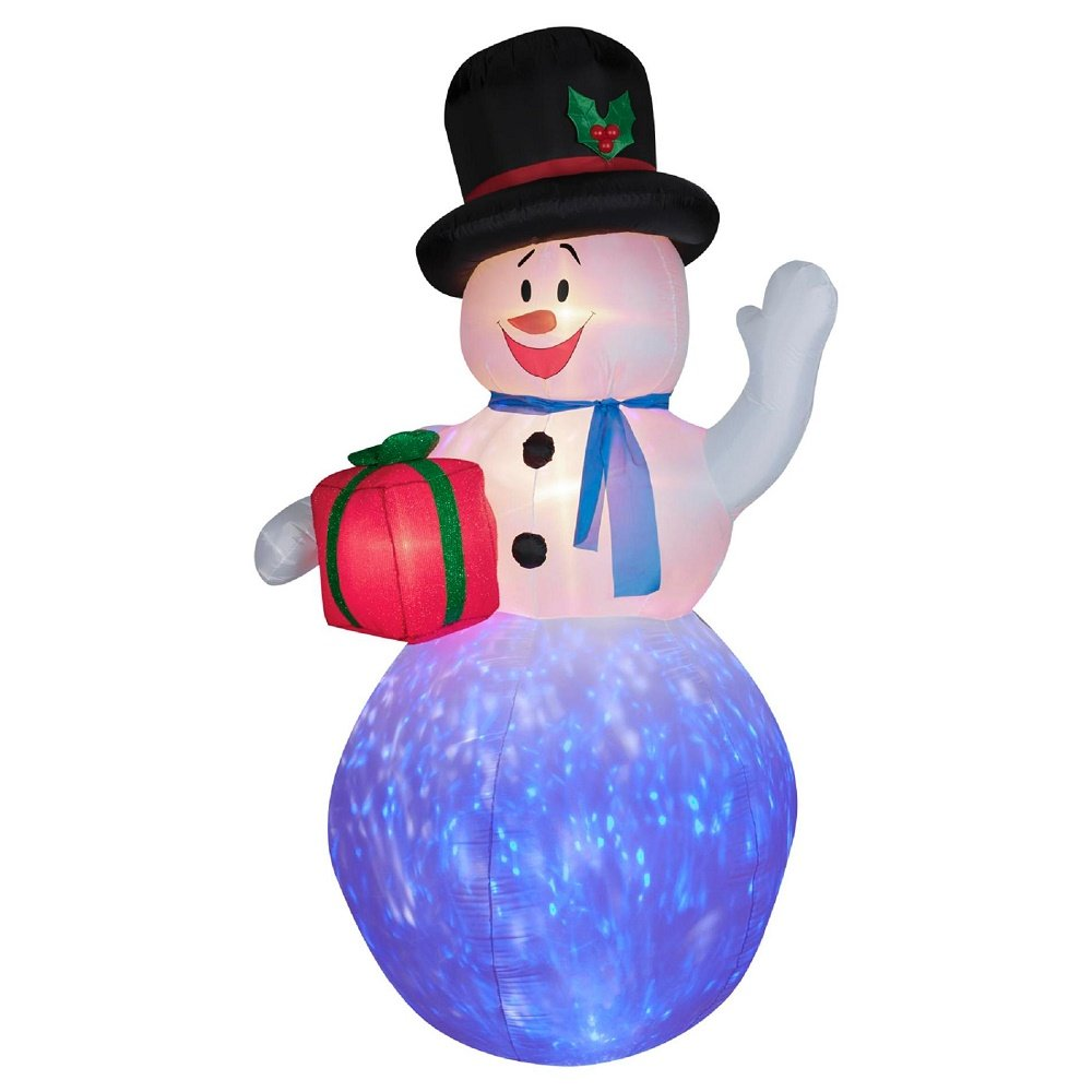 Christmas snowman outdoor inflatables wikii