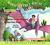 Mary Pope Osborne Magic Tree House Collection Books 1-4 [set of 3 audio CD's only]