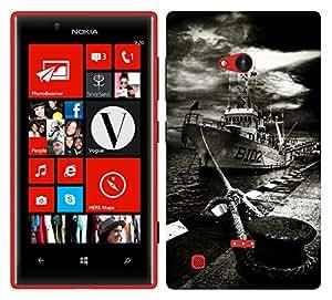 TrilMil Premium Design Back Cover Case For Nokia Lumia 720