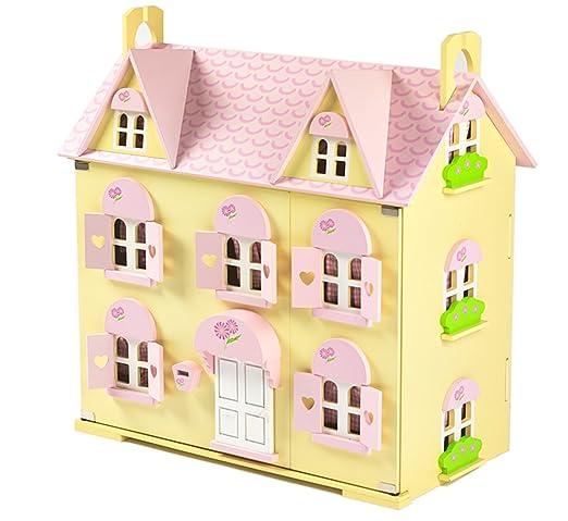Butterbee Cottage Enfant Maison De Poupées En Bois avec Sweetbee Meubles Accessoires