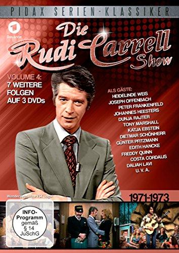 Die Rudi Carrell Show, Vol. 4 / Weitere sieben Folgen der beliebten Unterhaltungs-Show mit vielen Stars von 1971 - 1973 (Pidax Serien-Klassiker) [2 DVDs]