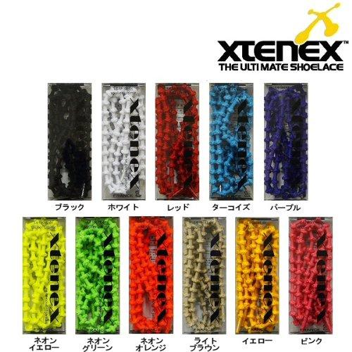 Xtenex【エクステネクス】Sports300 シングルカラー【75cm】2本入り シューレース 【魔法の靴ひも】シューズ・スニーカーに