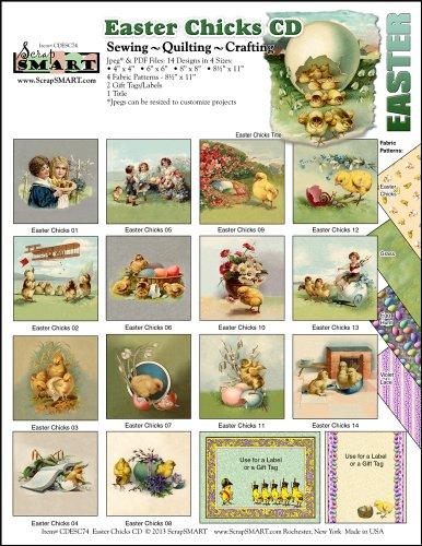 Scrapsmart - Easter Chicks Collection Software - Jpeg & Pdf Files For Mac [Download]