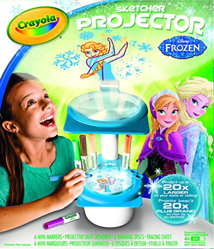 Crayola Frozen Sketcher Projector back-1077872