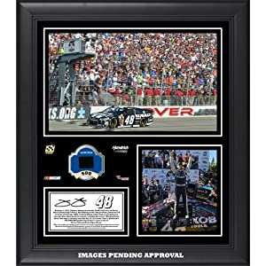Jimmie Johnson 2014 Nascar Sprint Cup Series Race at Dover International Speedway... by Sports Memorabilia