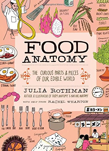 Food Anatomy: The Curious Parts & Pieces of Our Edible World (Julia Rothman) by Julia Rothman