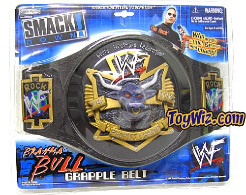 WWE Kids The Rock Brahma Bull Belt