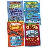 Jeremy Strong Hundred Mile-an-Hour Dog Pack, 4 books, RRP £19.96 (Lost! The Hundred-Mile-An-Hour Dog; Return of the Hundred-Mile-An-Hour Dog; The Hundred Mile An Hour Dog; Wanted! 100 Mile-An-Hour Dog).