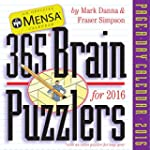 Mensa 365 Brain Puzzlers Page-A-Day C...
