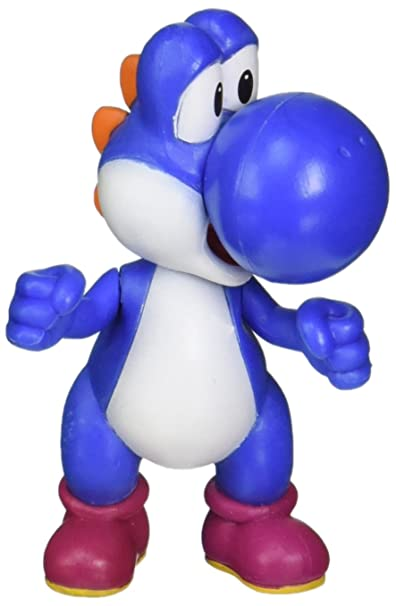 World of Nintendo – Super Mario – Yoshi Bleu – Figurine 6 cm
