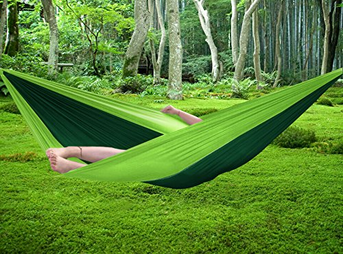 FiveJoy® Parachute Double Hammock With Built-in Travel Bag For Easy Storage - 102
