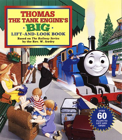 618PN1C3D3L. SL500  Thomas the Tank Engine Big Lift and Look Flap Book Review