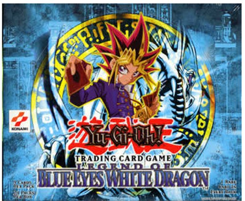 Yu-Gi-Oh! trading cards Blue Eyes White Dragon Booster Box (24)