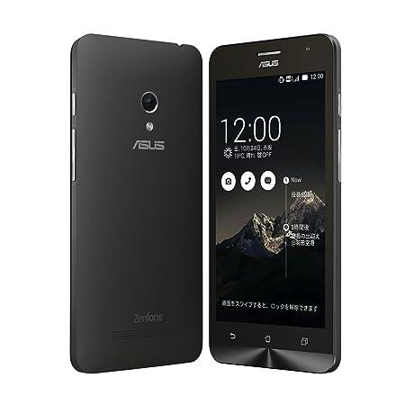 【国内正規品】ASUSTek ZenFone5 ( SIMフリー / Android4.4.2 / 5型ワイド / microSIM / 16GB / LTE / ブラック ) A500KL-BK16