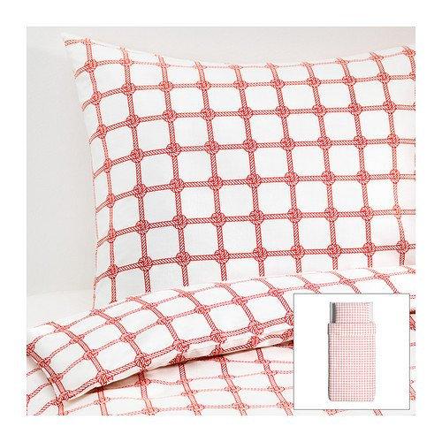 Red Duvet Cover Twin front-125218