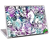 MusicSkins Kill Brand Doodles Skin for 17inch MacBook Pro and PC Laptop