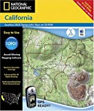 GPS or Navigation System - National Geographic TOPO! California Map CD-ROM (Mac)