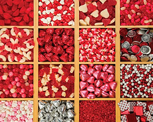 Love is Sweet Jigsaw Puzzle 1000 Puzzle (Candy Collage)