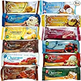 Quest Bars High Protein Gluten Free, Original Variety Pack, 12-Bars