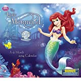 2014 Disney The Little Mermaid Wall Calendar